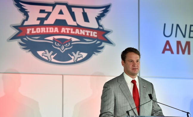 NCAA Football: FAU Press Conference